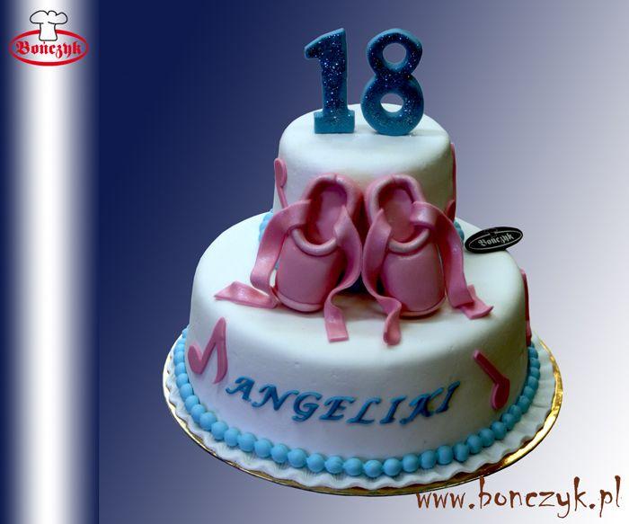 #balet; #ballet; #tort; #cake; #baletki; #18; #pelnoletni; www.bonczyk.pl