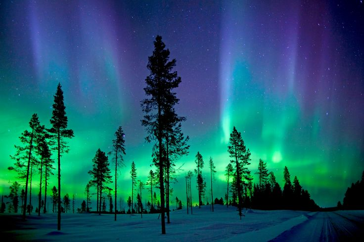 This is my stationery inspiration!  I love the aurora borealis. :)