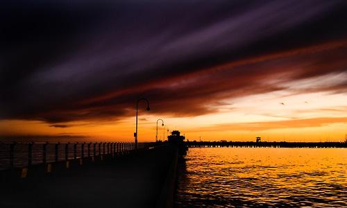 Sunset, St. Kilda, Melbourne