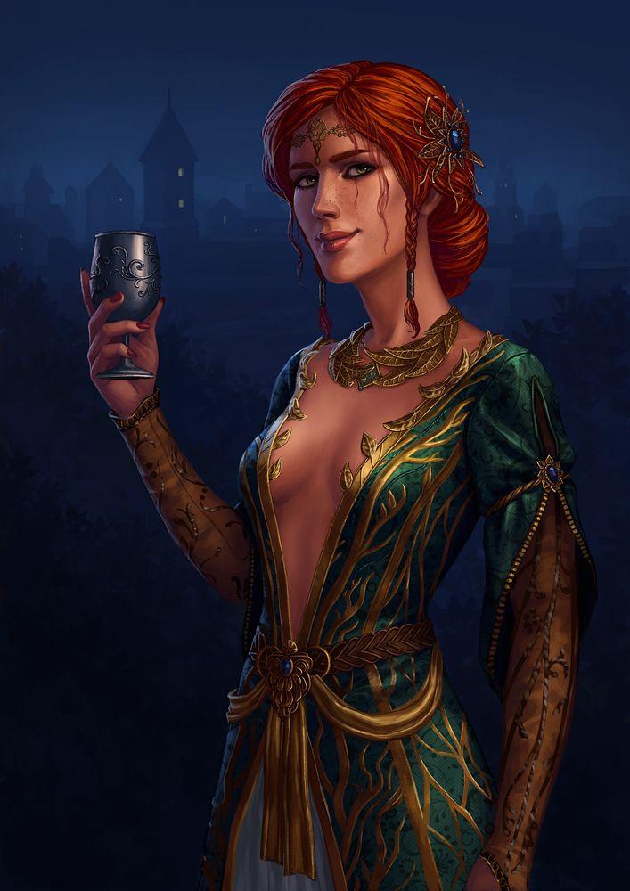 Triss Merigold by Neirr on DeviantArt