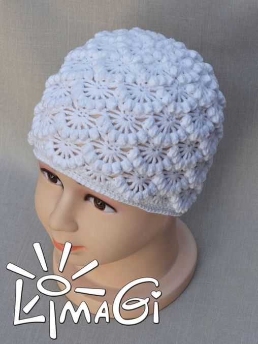 crochet flower and cable hat | make handmade, crochet, craft