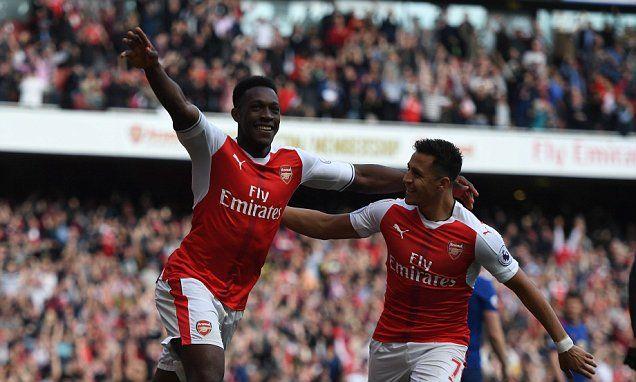 Arsenal 2-0 Man Utd: Granit Xhaka and Danny Welbeck score