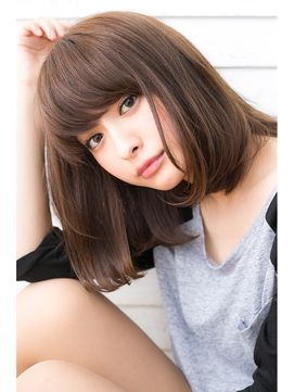 30代に似合うミディアムヘアカタログ♡-5歳に見える髪型まとめ|MERY [メリー]