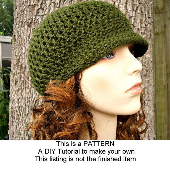 Instant Download Crochet Pattern  Hat Crochet Pattern von pixiebell, $5.00