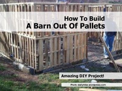 How To Build A Barn Out Of Pallets kids toy bikes  keep it clean  all next to bak fence grow veg  herbs on them