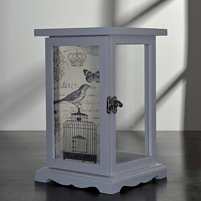 Bird Design Lantern     List $34.99   SKU 115148   6.5inches widex 6.5inches longx 10inches high