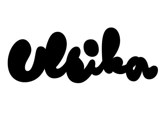logotype for Ulrika Ylioja by Under Ware: Types Samples, Typography Graph Design, Types Rel Content, Art Design, Graphics Design, Branding Logos
