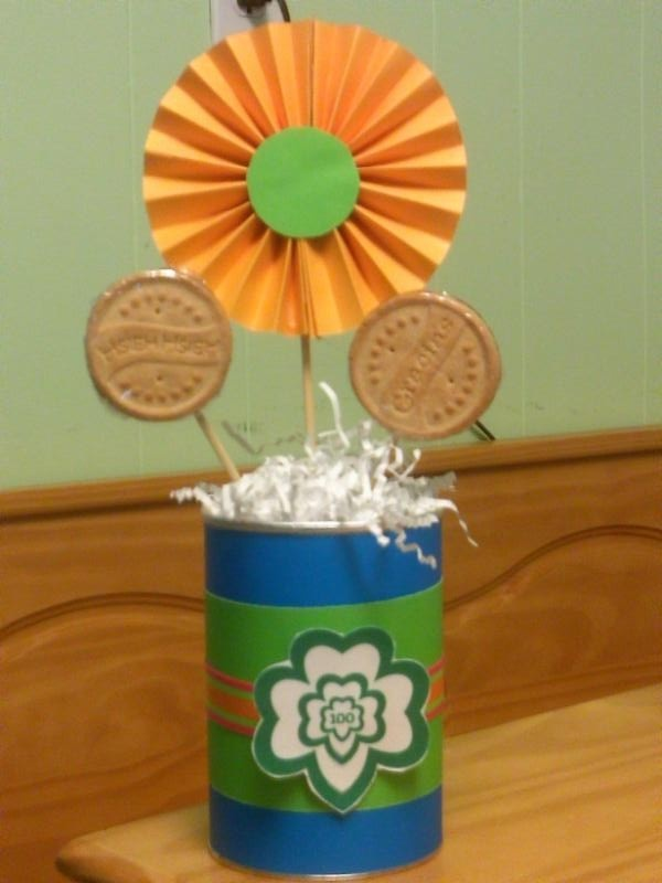 210 best images about girl scouts ceremony  party ideas on