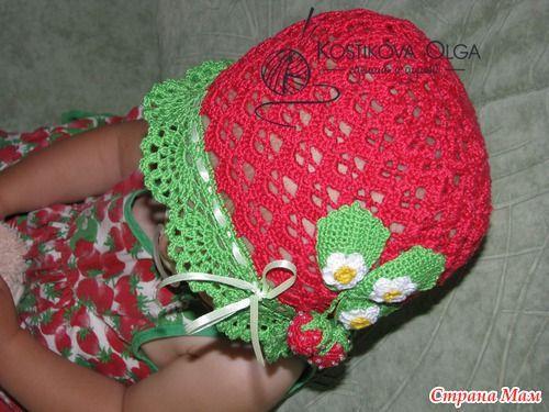 Dojrzała i mamy cap-truskawki :))) - Knitting - Home Moms