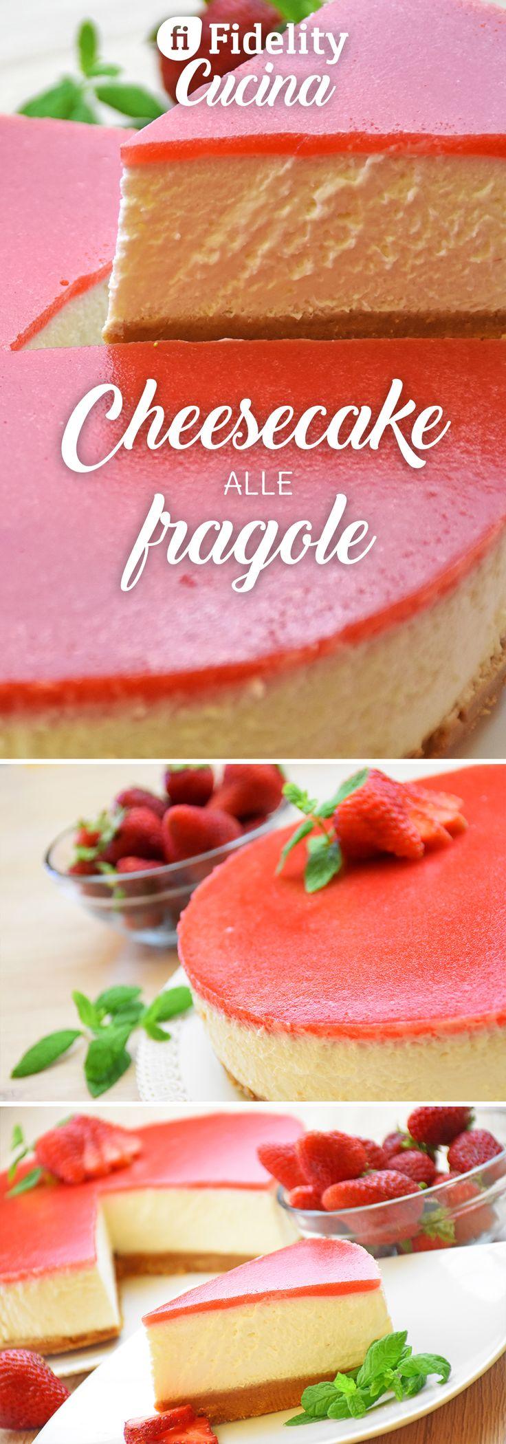 La cheesecake fredda alle fragole è un dolce fresco, dal sapore delicato, perfetto per le giornate estive. Ecco la ricetta