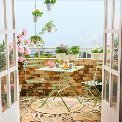 My inner landscape Cool Furniture, Outdoor Furniture Sets, Outdoor Decor, Interior Design Living Room Warm, Porch And Terrace, Small Balcony Decor, Balcony Ideas, Best Flooring, Home Staging
