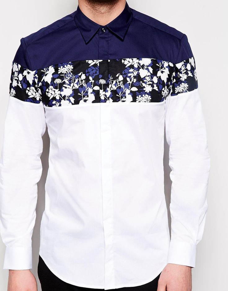 Navy, white, and a few florals, Nice!