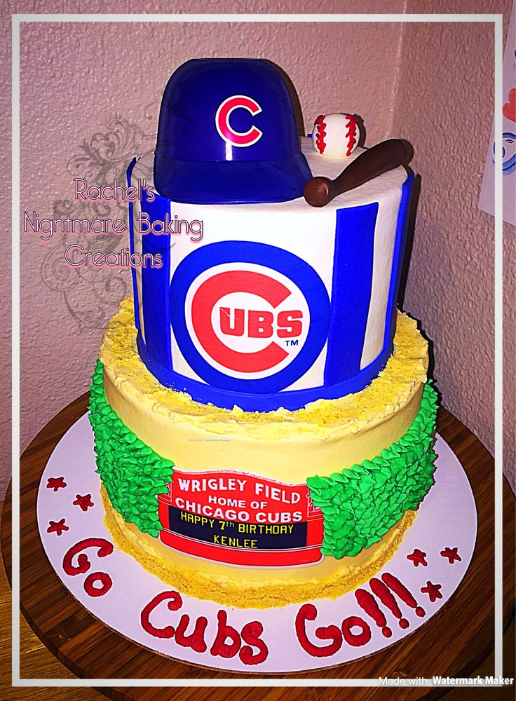 Cubs Birthday Cake Best 25 Chicago Cubs Cake Best 25 Chicago Cubs