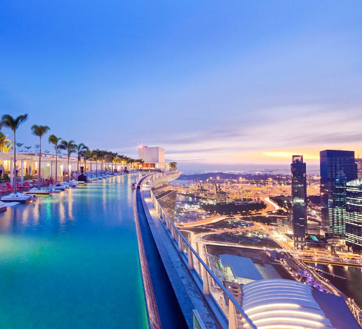 The Hotel Hotel piscine, Voyage de luxe, Marina