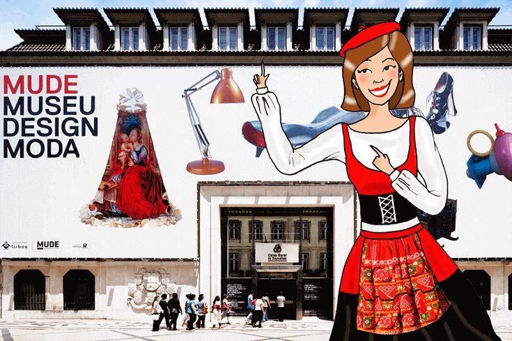 Zeebloguette au MUDE, le musée du Design et de la Mode de Lisbonne !