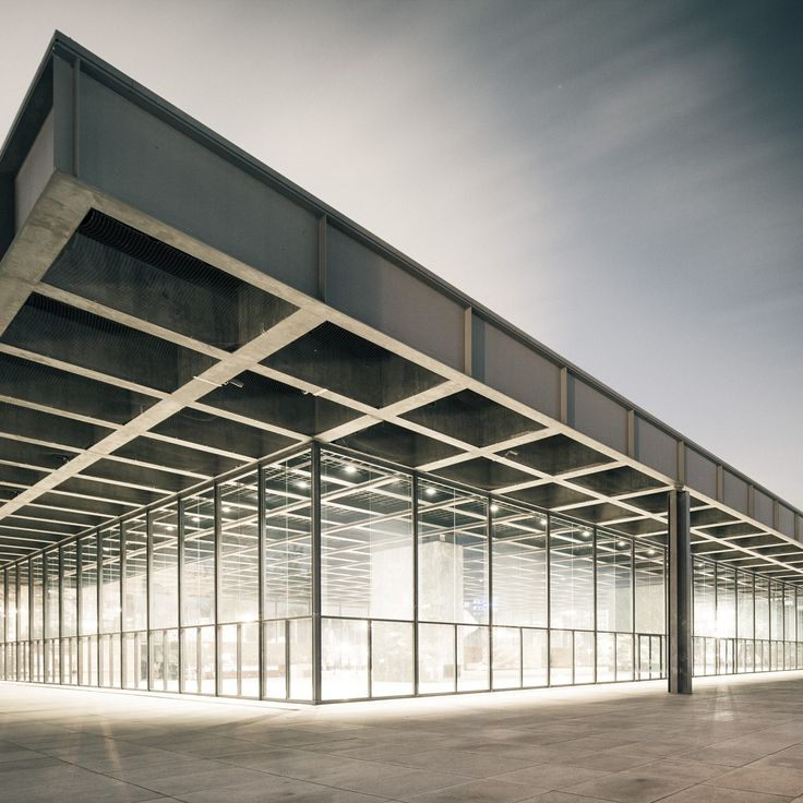 Neue Nationalgalerie, Berlin, Mies van der Rohe