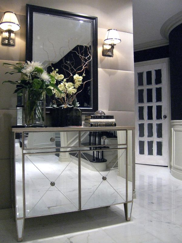 Foyer Mirror Cabinet : Fabulous entryway design ideas floral arrangements