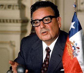 Salvador Allende. Presidente de Chile.