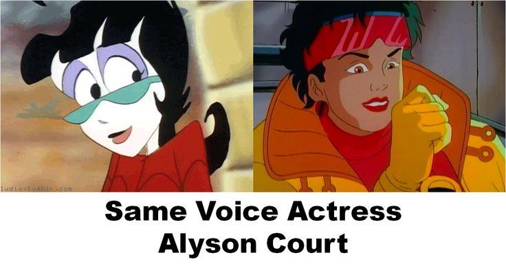 Same Voice Actress - Alyson Court #Voiceover