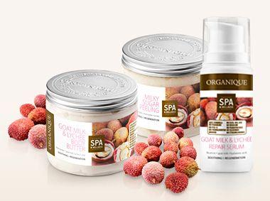 Kosmetyki Organique w Terapii Łagodzącej / Kozie mleko