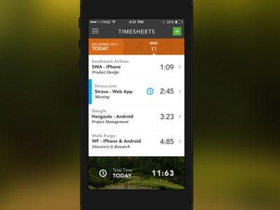 Harvest iOS -Timesheets