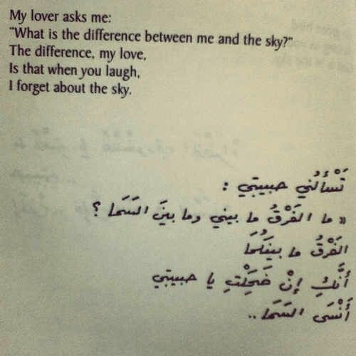 Arabic poetry by Nizar Qabbani