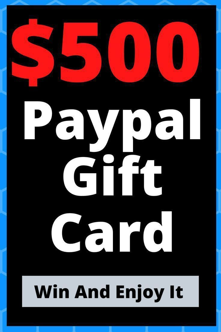 Free paypal gift card giveaway 2020 paypal gift card