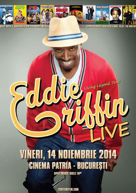 Living Legend Tour cu Eddie Griffin ajunge la Bucuresti