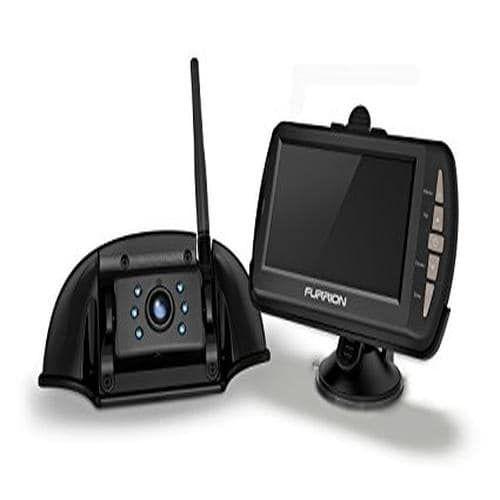 Backup Camera System W/Mtg Brkt (Camera + Monitor + Black) (