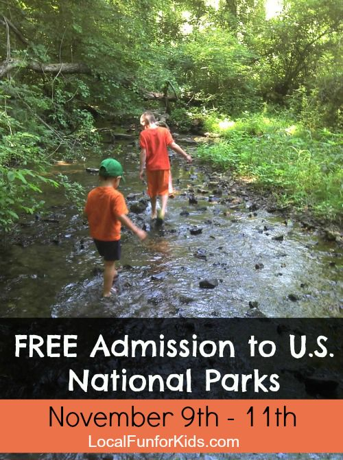 Free admission to U.S. National Parks this weekend.