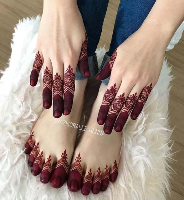 Henna designs for Girls