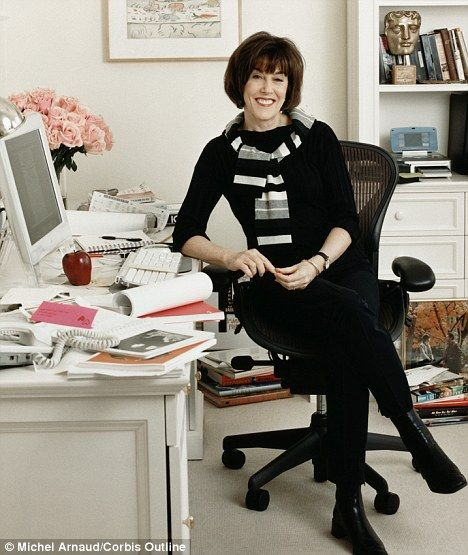 Its Never Too Late To Find Your Passion Film Maker Nora Ephron EphronWriters DeskPortrait