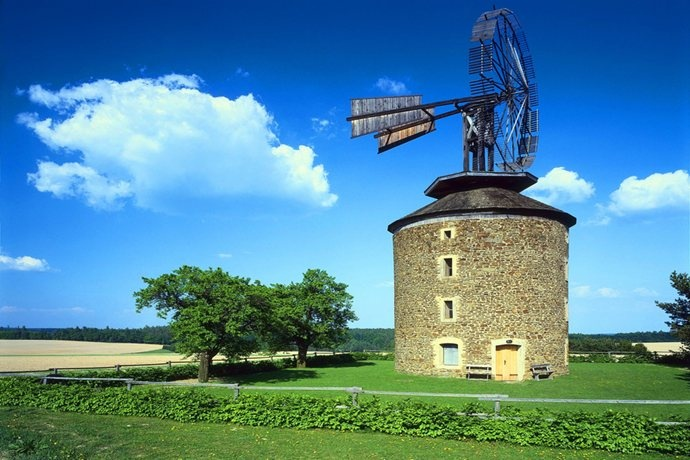 Wind mill near Brno.