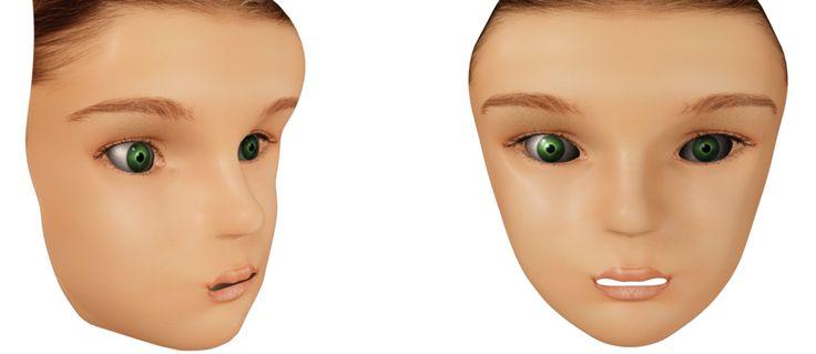 Late night modeling - 3D Face Model by J3DQD.deviantart.com on @DeviantArt