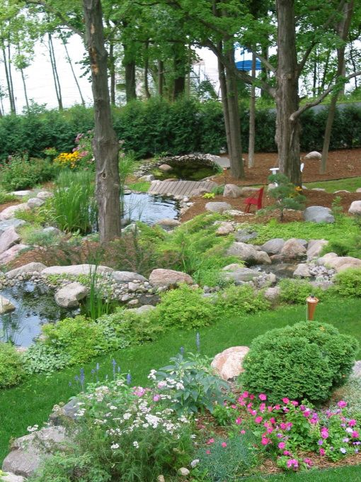 65 best garden ponds images on pinterest for Garden pond unlimited