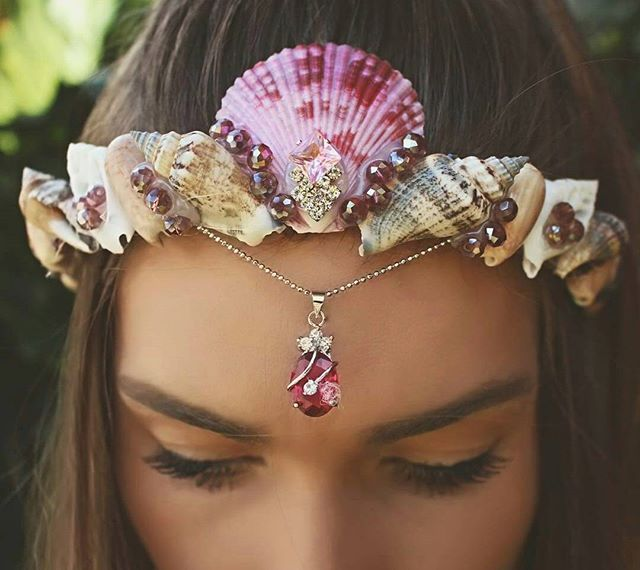 Pin for Later: King Neptune Would Be Jealous of These Majestic Mermaid Flower Crowns