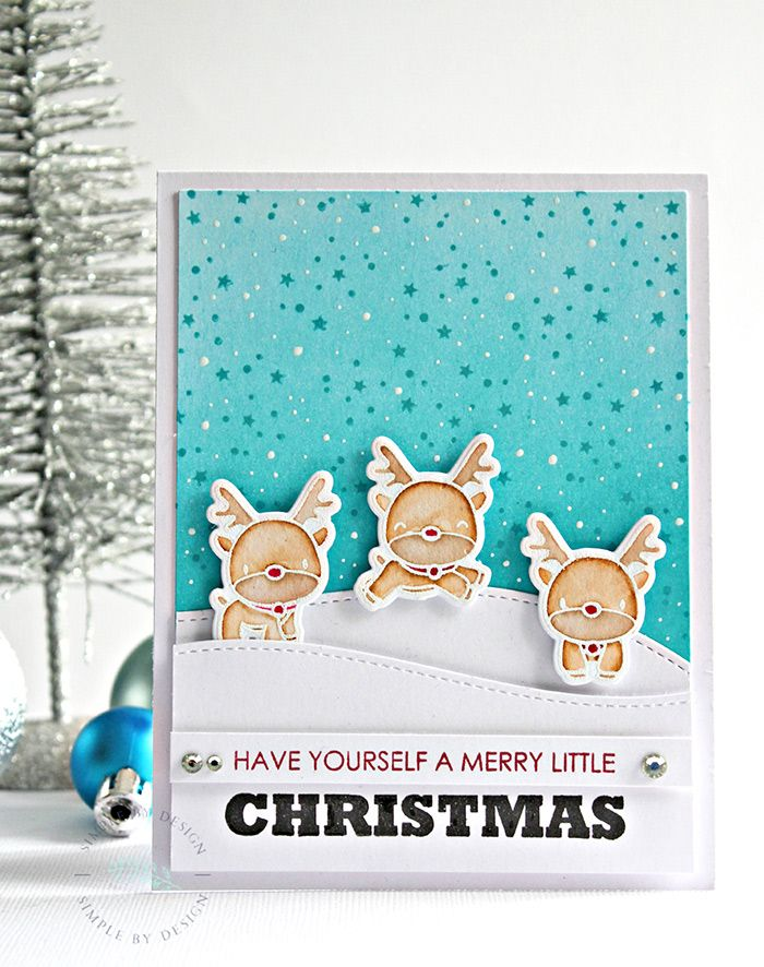 Reindeer's! | Simple By Design by Joy Taylor | Mama Elephant | Have yourself a merry little christmas