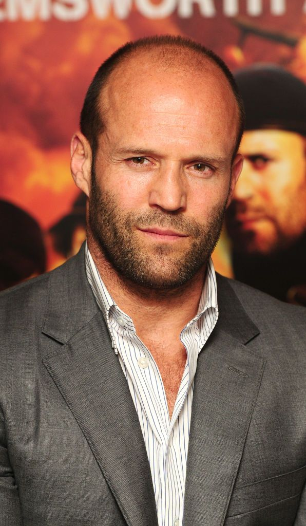 Jason Statham at a photocall for new film The Expendables ...