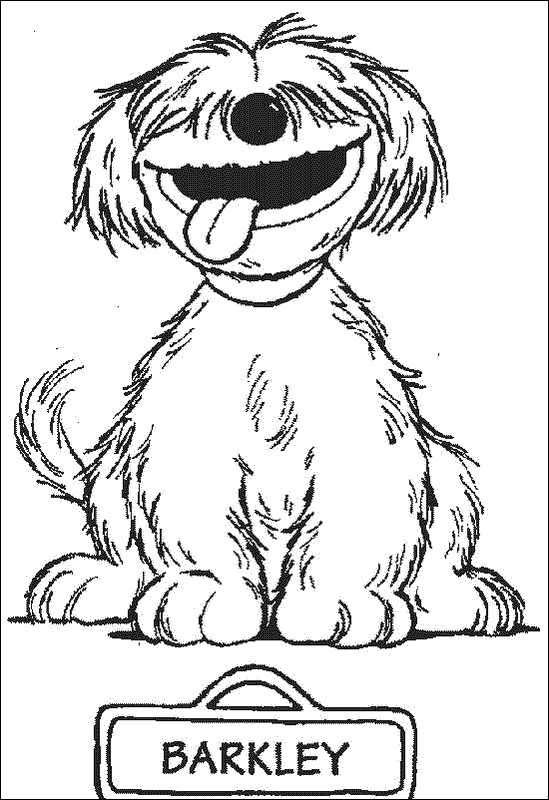 sesame beginnings coloring pages - photo#2