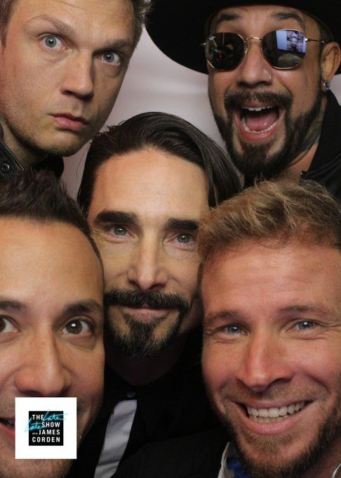 Late Late Show With James Corden Backstreet Boys