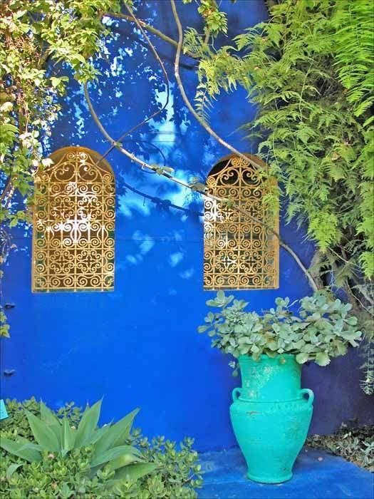 La villa Majorelle, Marrakech, Morocco. Photo by Jean-Pierre Dalbéra