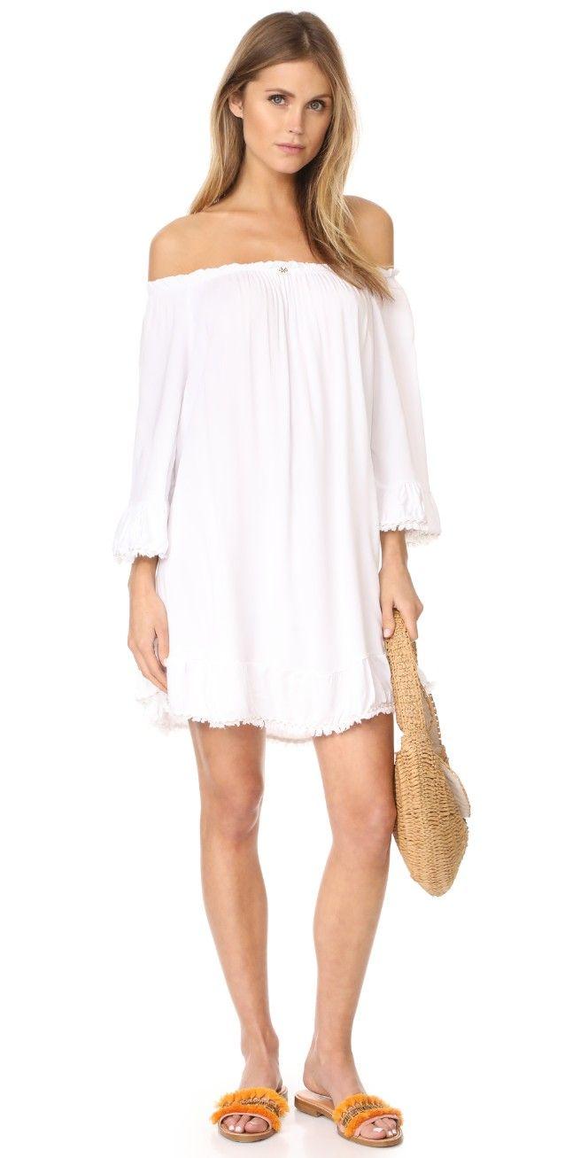White dress.  PilyQ Louisa Dress | SHOPBOP