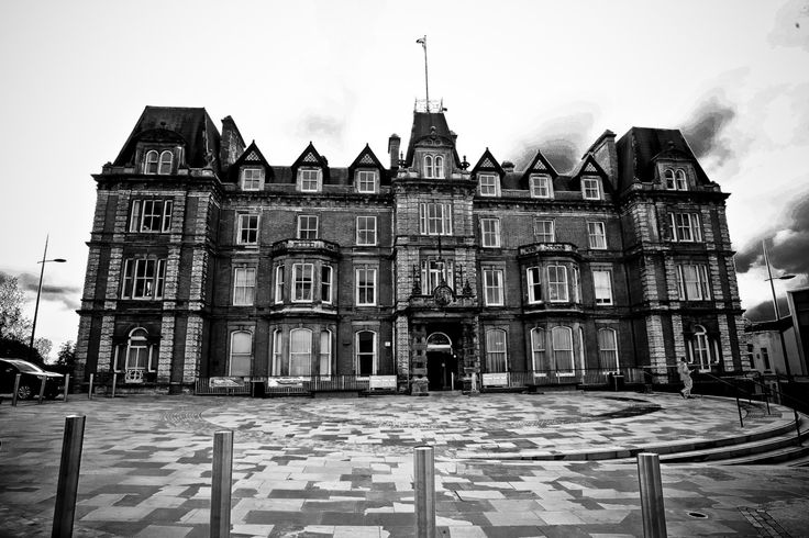 The George Hotel (Hanley Town Hall) .. by GardenofIcarus on Etsy