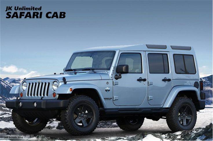 Jeep Jk Safari Cab Jeep Pinterest Homemade Make