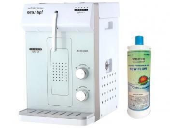Purificador de Água New.Up! - Refrigerado por Compressor Infinity Glass + Refil   R$ 599,00 em até 10x de R$ 59,90 sem juros no cartão de crédito