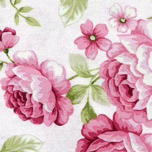 Symphony Rose Large Roses on White