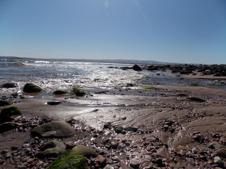 On the beach at Fortrose on the Black Isle, up in the Highlands of Scotland