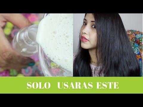EL MEJOR ACONDICIONADOR CASERO - CABELLO LARGO EN 1 MES - Maya belleza de la India - YouTube