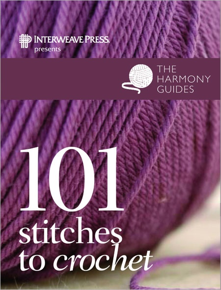 101 Stitches To Crochet - Interweave.  Want this: Crochet Book, Crafts Ideas, Crafts Book, Harmony Guide, Crochet Cards, 101 Stitches, Crochet Stitches, 101 Crochet, Crochet Knits