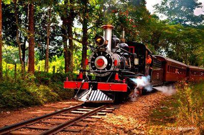 Portal Ferroviário: Maria fumaça realizará mais viagens no feriado de 15 de novembro